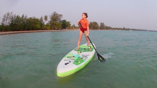 FoolMoon stand up paddle Koh Mak