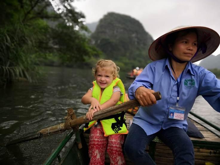 Paddling Ninh Binh