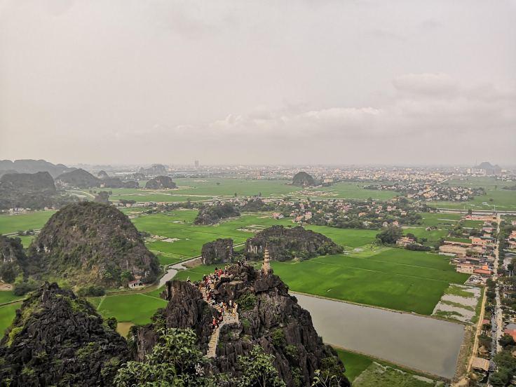 Rice fields Ninh Binh view
